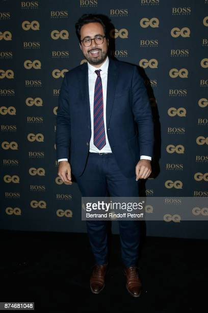 Awarded as Digital Man of the year Secretary of State for Digital Mounir Mahjoubi attends the GQ Men of the Year Awards 2017 at Le Trianon on...