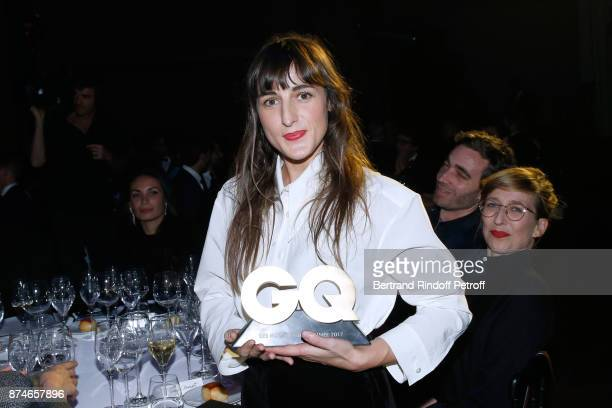 Awarded as 'Female Singer' of the year Juliette Armanet attends the GQ Men of the Year Awards 2017 at Le Trianon on November 15 2017 in Paris France