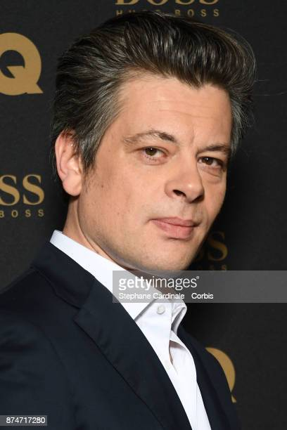 Awarded as 'Male Singer' of the year Benjamin Biolay attends the GQ Men Of The Year Awards 2017 at Le Trianon on November 15 2017 in Paris France