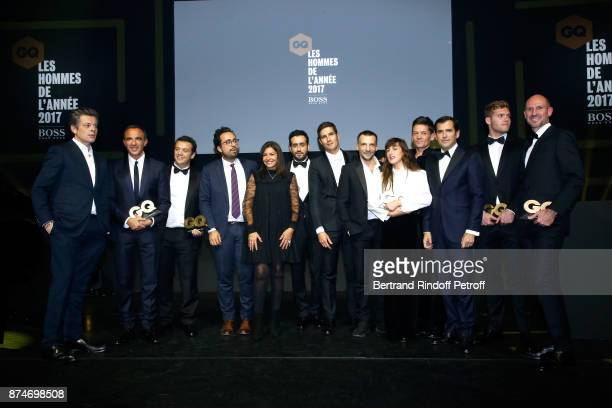 Awarded as 'Male Singer' of the year Benjamin Biolay Awarded as Animator of the year Nikos Aliagas Awarded as 'Chef' of the year Alexandre Gautier...
