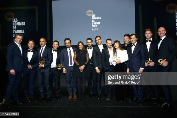 Awarded as Male Singer of the year Benjamin Biolay Stephane Bern Awarded as Animator of the year Nikos Aliagas Awarded as Chef of the year Alexandre...