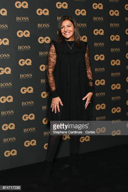 Awarded as Political Woman of the year Mayor of Paris Anne Hidalgo attends the GQ Men Of The Year Awards 2017 at Le Trianon on November 15 2017 in...