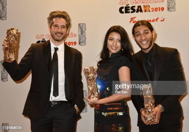 Awarded best Actress Lea Drucker winner for Jusqu'a la garde attends Red Carpet Arrivals Cesar Film Awards 2019 At Le Fouquet's on February 22 2019...