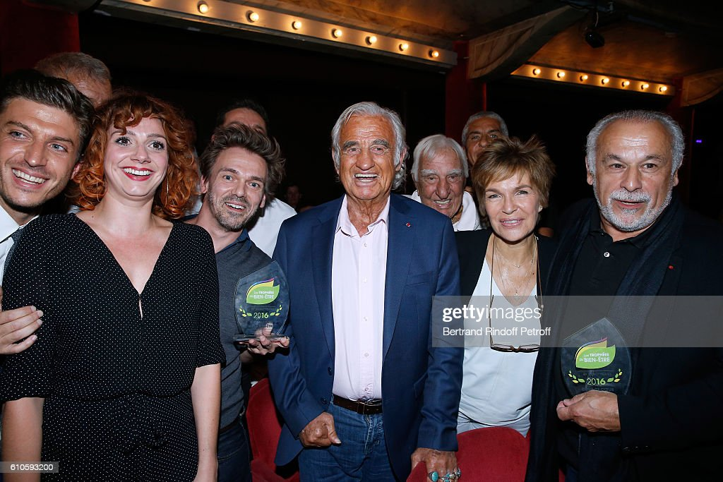 'Trophees Du Bien Etre' : 2nd Award Ceremony At Theatre de La Gaite Montparnasse In Paris