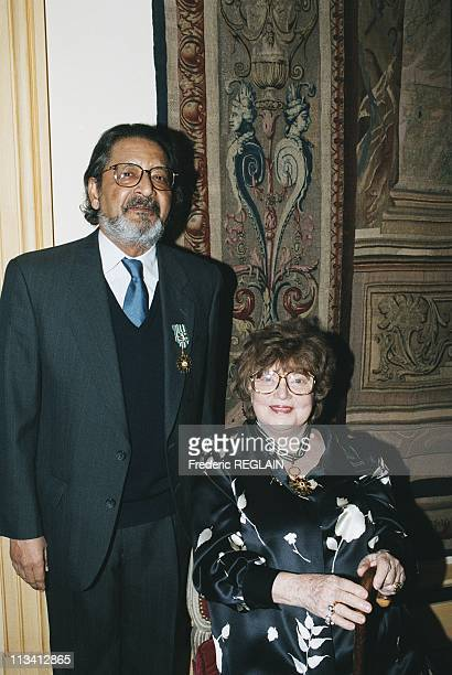 Awarded Medal Of Arts And VS Naipaul To Muriel Spark On October 1st1996 In England