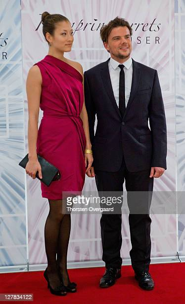 Awardee and architect Bjarke Ingels arrives at the award show of Crown Prince Frederik and Crown Princess Mary at Musikhuset Aarhus on October 1 2011...