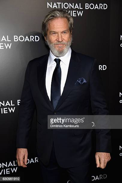 Awardee Jeff Bridges attends the 2016 National Board of Review Gala at Cipriani 42nd Street on January 4 2017 in New York City