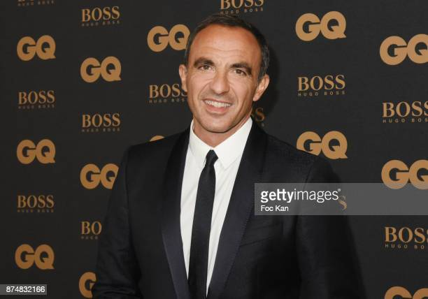 GQ 2017 awarder presenter Nikos Aliagas attends the Les GQ Men Of The Year Awards 2017 Photocall at Trianon on November 15 2017 in Paris France