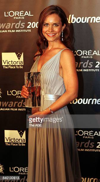 Awards 2006. Saskia Burmeister wins the Best Guest or Supporting Actress in television drama award for her role in 'Blue Heelers' at the 2006 AFI...