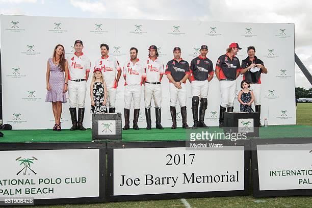 Awards Ceremony at International Polo Club Palm Beach on January 16 2017 in Wellington Florida