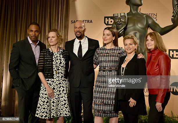 SAG Awards Committee Chairs JoBeth Williams Jason George actor/recording artist Common actress Sophia Bush SAGAFTRA president Gabrielle Carteris and...