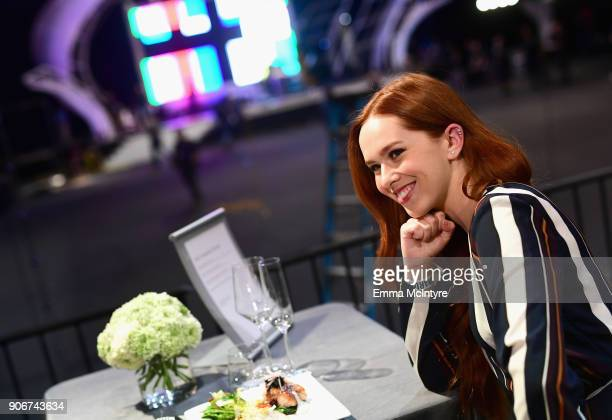 Awards Committee Member Elizabeth McLaughlin at the 24th Annual Screen Actors Guild Awards Behind The Scenes Day at The Shrine Auditorium on January...