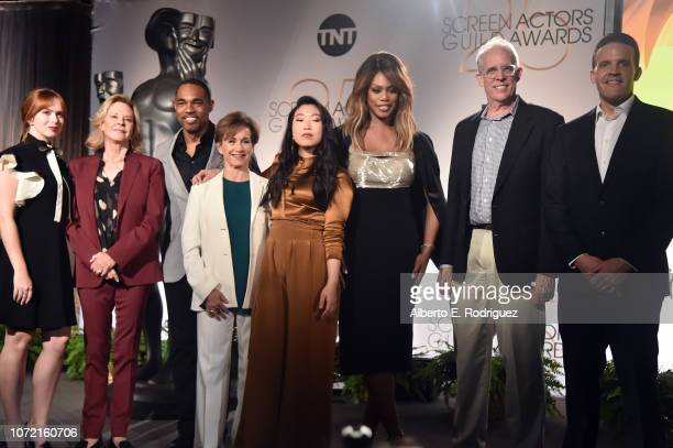 SAG Awards Committee Member Elizabeth Mclaughlin SAG Awards Committee Chair JoBeth Williams SAG Awards Committee Member Jason George SAGAFTRA...