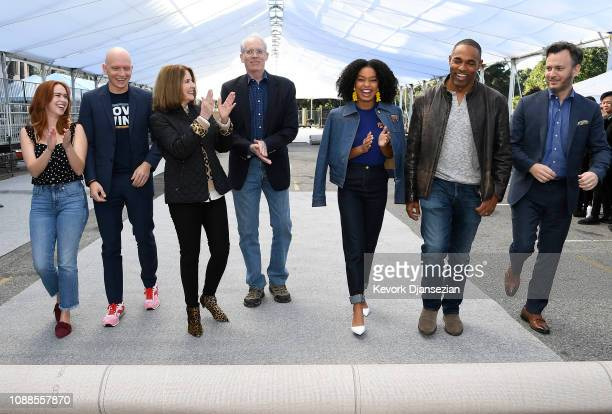 SAG Awards Committee Member Elizabeth McLaughlin SAG nominee Anthony Carrigan SAG Awards Executive Producer Kathy Connell SAG Awards Committee Vice...