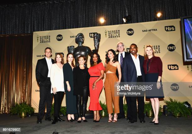 SAG Awards Committee Member Woody Schultz SAG Awards Executive Producer Kathy Connell SAG Awards Committee Member Elizabeth McLaughlin SAGAFTRA...