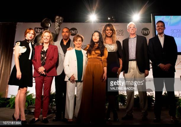 SAG Awards committee member/actress Elizabeth McLaughlin SAG Awards Comittee chair ASAGAFTRA Foundation president JoBeth Williams SAGAFTRA Diversity...