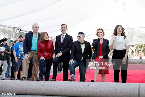 Awards Committee Vice Chair Daryl Anderson SAG Awards Executive Producer Kathy Connell Mayor Eric Garcetti actress Lea DeLaria actress JoBeth...