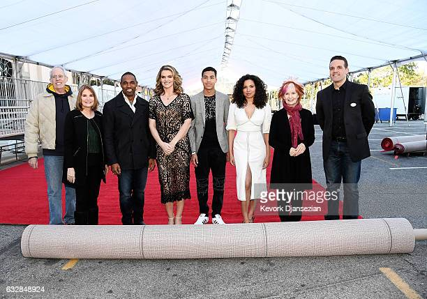 SAG Awards Committee Vice Chair Daryl Anderson SAG Awards Executive Producer Kathy Connell actors Jason George actress Missi Pyle actor Marcus...