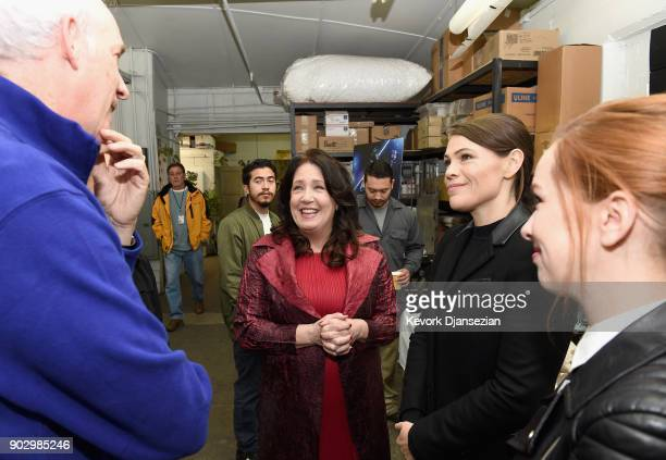 SAG Awards Committee Vice Chair Daryl Anderson SAG Awards Nominee Ann Dowd SAG Awards Nominee Clea DuVall and SAG Awards Committee Member Elizabeth...