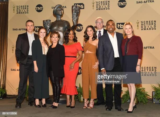 Awards Committee Woody Shultz SAG Awards Committee Member Elizabeth McLaughlin SAGAFTRA President Gabrielle Carteris actors Niecy Nash Olivia Munn...