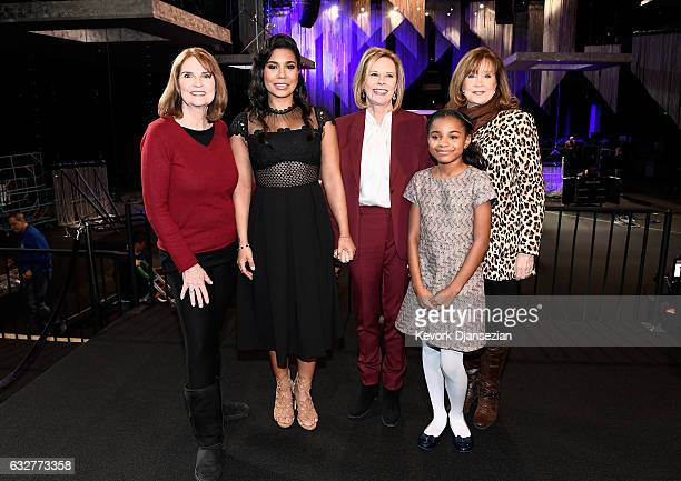 SAG Awards Executive Producer Kathy Connell actress Jessica Pimentel SAG Awards Committee Chair JoBeth Williams actress Saniyya Sidney and SAGAFTRA...