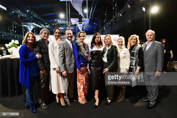SAG Awards Executive Producer Kathy Connell Florist Christopher Matsumoto SAG Awards Nominee Amanda Brugel Copper's Hawk Winery Restaurants CEO Tim...
