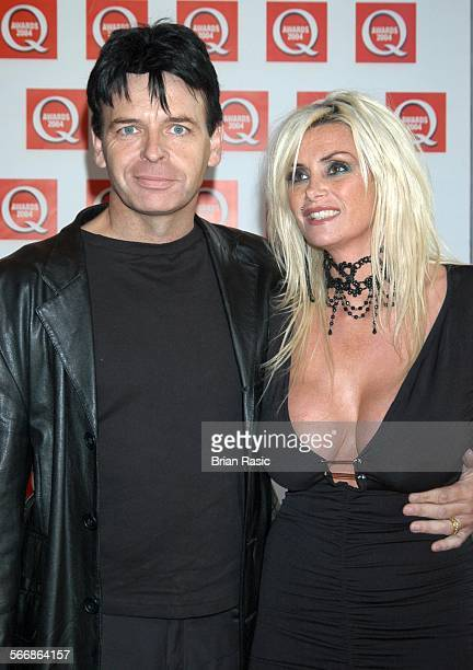 Q Awards Grosvenor House Hotel London Britain 04 Oct 2004 Gary Numan And Wife Gemma