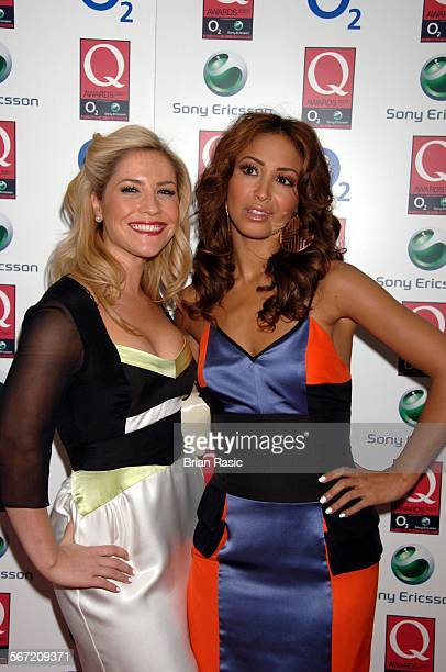 Q Awards Grosvenor House Hotel London Britain 8 Oct 2007 Sugababes Heidi Range And Amelle Berrabah