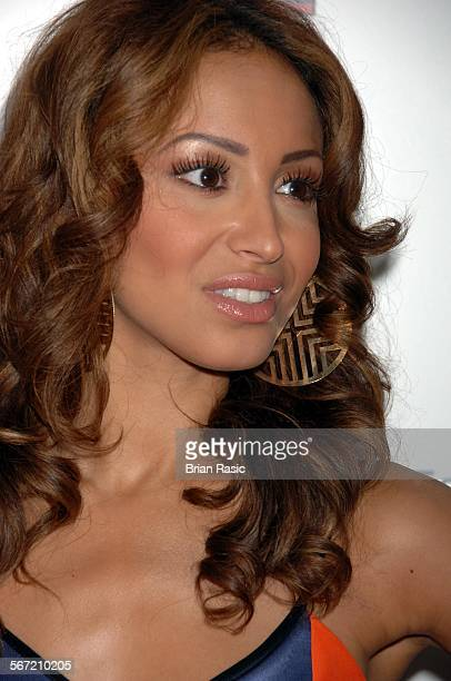 Q Awards Grosvenor House Hotel London Britain 8 Oct 2007 Sugababes Amelle Berrabah