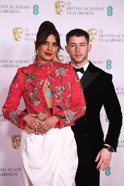 GBR: EE British Academy Film Awards 2021 - Arrivals