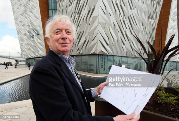 Awardwinning Belfast designer Alan Grimason who designed the cladding for Belfast Titanic outside the multimillion pound visitor attraction