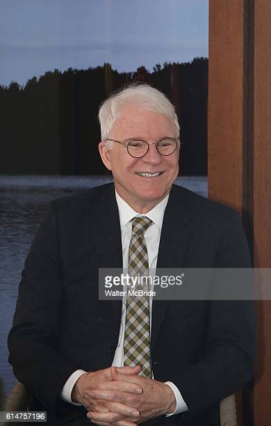 AwardWinning Dramatist Steve Martin attends an intimate salon at the home of Novelist and Playwright Elizabeth Dewberry on October 14 2016 in New...
