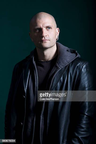 Awardwinning English fiction writer China Mieville at the Edinburgh International Book Festival where he talked about his new book entitled The City...