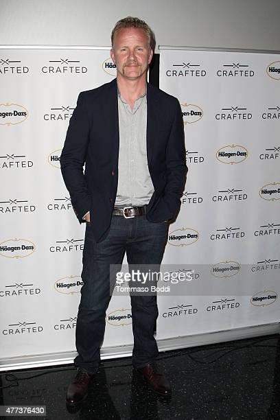 Awardwinning filmmaker Morgan Spurlock at the Los Angeles Film Festival to celebrate the premiere of his new documentary short Crafted – an unbranded...