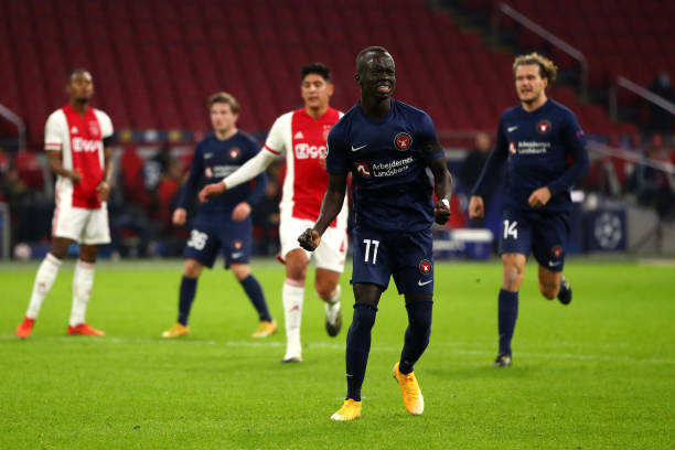 NLD: Ajax Amsterdam v FC Midtjylland: Group D - UEFA Champions League