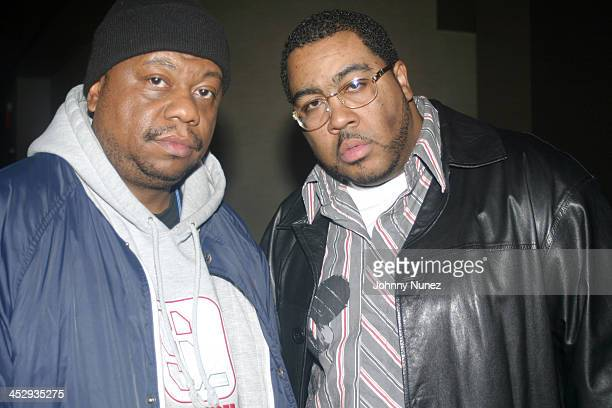 Awesome 2's Special K and Teddy Ted during Rza and Trace Magazine Host Kill Bill Vol 2 Private Screening at Tribeca Screening Room in New York City...