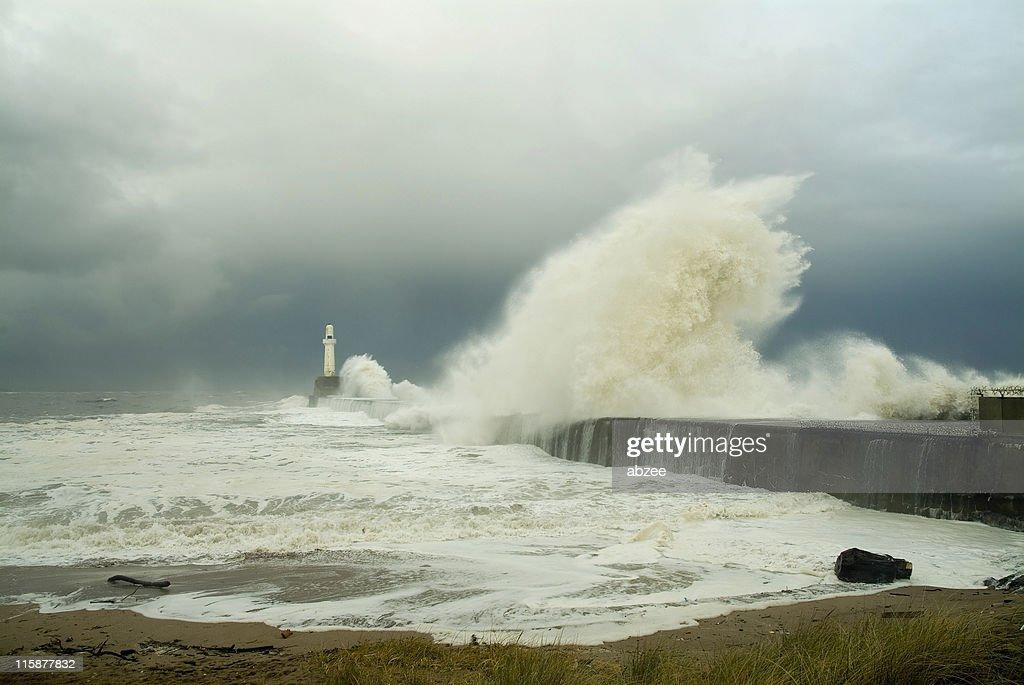 Super power des Meer : Stock-Foto