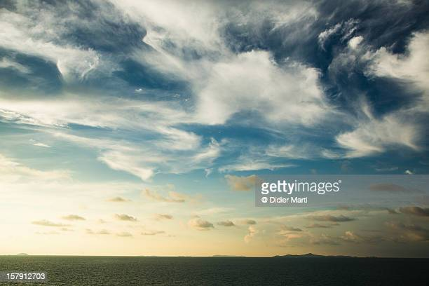 awesome sky! - didier marti stock photos and pictures