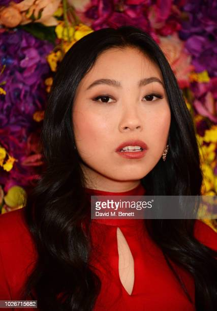 Awkwafina attends a special screening of Crazy Rich Asians at The Ham Yard Hotel on September 4 2018 in London England