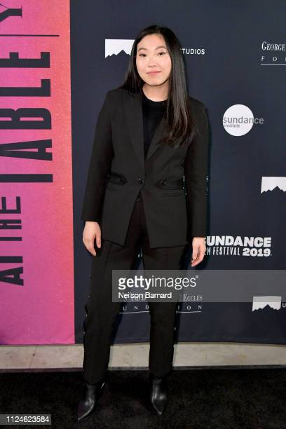Awkwafina attends An Artist at the Table Dinner and Program during the 2019 Sundance Film Festival at Utah Film Studios on January 24 2019 in Park...