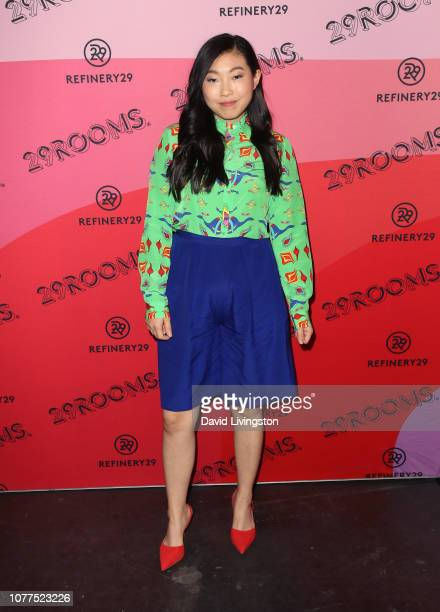 Awkwafina attends Refinery29's 29Rooms Los Angeles 2018 Expand Your Reality at The Reef on December 04 2018 in Los Angeles California