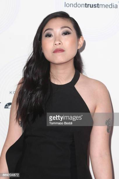 Awkwafina attends the 16th Annual Unforgettable Gala at The Beverly Hilton Hotel on December 9 2017 in Beverly Hills California