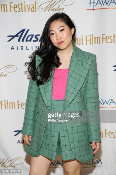 Awkwafina attends the 2019 Maui Film Festival on June 15 2019 in Wailea Hawaii