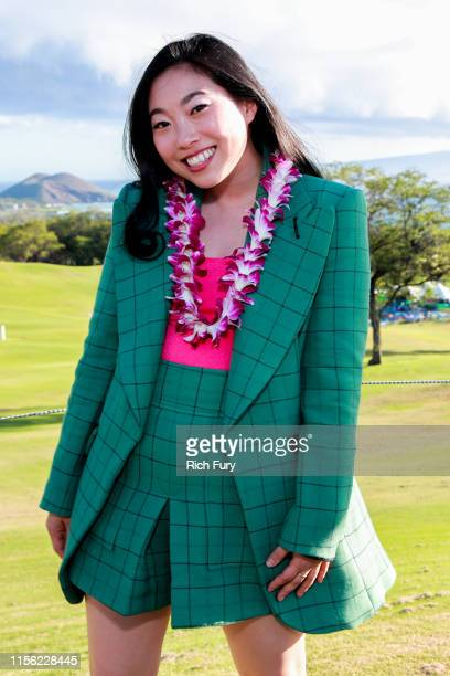 Awkwafina attends the 2019 Maui Film Festival's Taste of Wailea on June 15 2019 in Wailea Hawaii