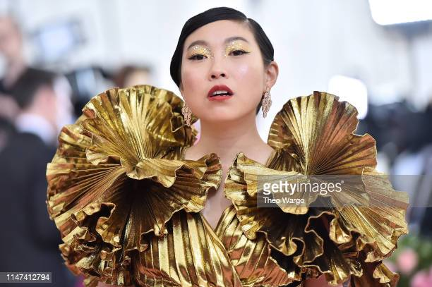 Awkwafina attends The 2019 Met Gala Celebrating Camp Notes on Fashion at Metropolitan Museum of Art on May 06 2019 in New York City