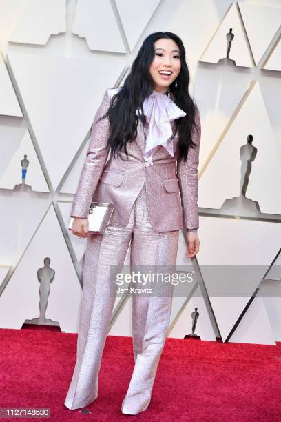 Awkwafina attends the 91st Annual Academy Awards at Hollywood and Highland on February 24 2019 in Hollywood California