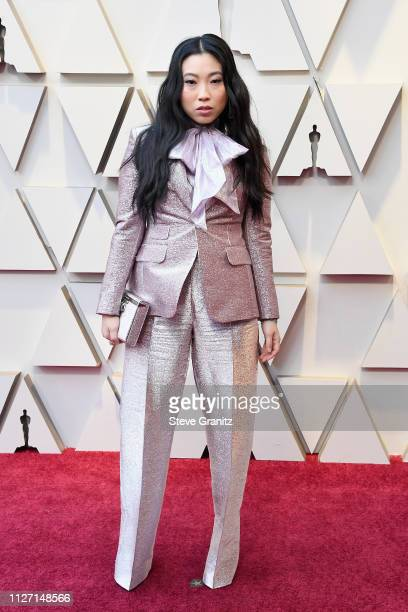 Awkwafina attends the 91st Annual Academy Awards at Hollywood and Highland on February 24, 2019 in Hollywood, California.