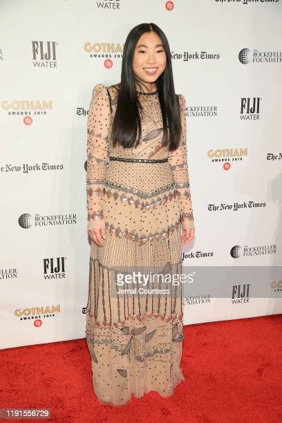 Awkwafina attends the IFP's 29th Annual Gotham Independent Film Awards at Cipriani Wall Street on December 02, 2019 in New York City.