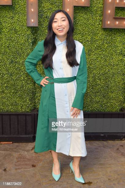 Awkwafina attends the 'Indie Contenders Roundtable' presented by The Hollywood Reporter at AFI FEST 2019 presented by Audi at TCL at Hollywood...