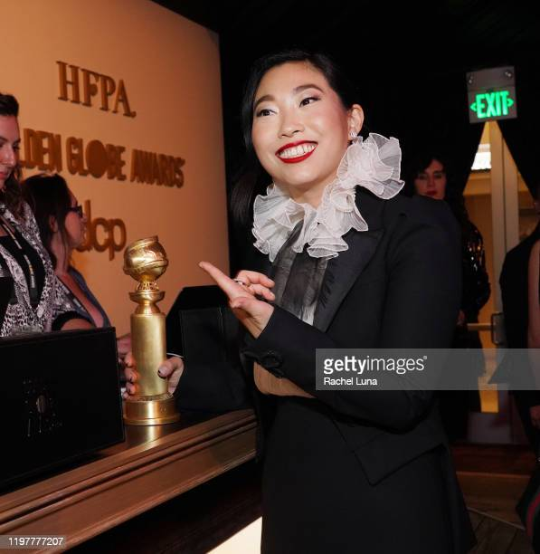 Awkwafina attends the Official Viewing And After Party Of The Golden Globe Awards Hosted By The Hollywood Foreign Press Association at The Beverly...